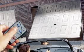 Electric Garage Door Garland